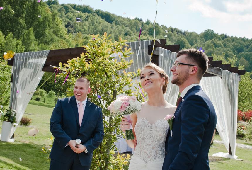 Dorota i Michał | ŚLUB W PLENERZE, CHATA NAD SZTOLNIĄ