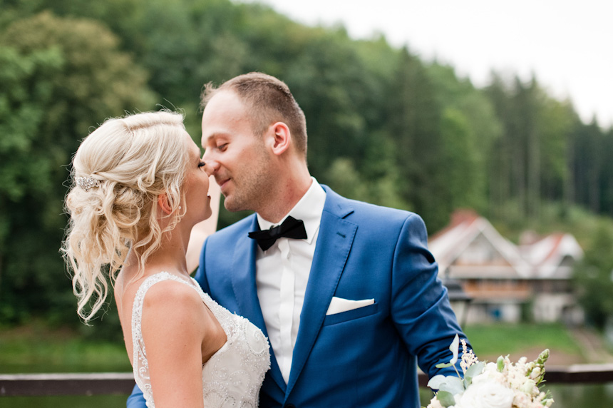 Karolina i Tomek | ŚLUB W PLENERZE ZAGÓRZE ŚLĄSKIE