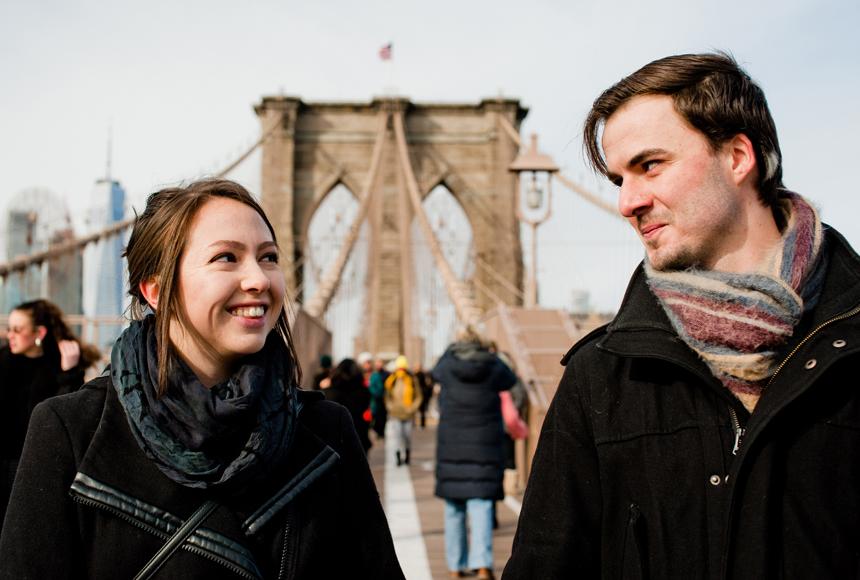 Hana i Maciek | Sesja małżeńska w Nowym Jorku